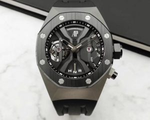 Audemars Piguet Royal Oak Concept GMT Tourbillon Titanium Ceramic 26560IO.OO.D002CA.01