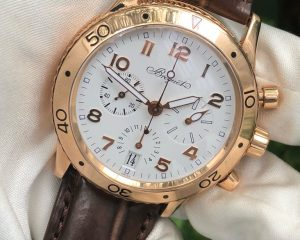 Type XX Transatlantique 18k Rose Gold Chronograph 3820BR