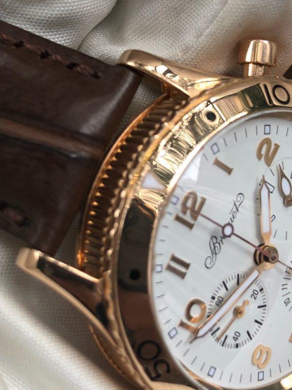 Type XX Transatlantique 18k Rose Gold Chronograph 3820BR