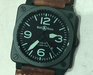 Bell & Ross Green Ceramic Military Type BR03-92-CK Automatic