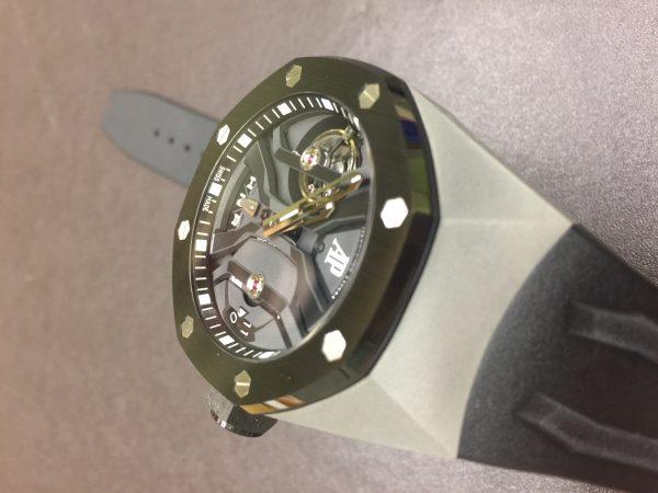 Audemars Piguet Royal Oak Concept GMT Tourbillon Titanium Ceramic 26560IO.OO.D002CA.01