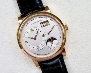 A. Lange & Söhne Lange 1 Moon Phase Rose Gold 109.032