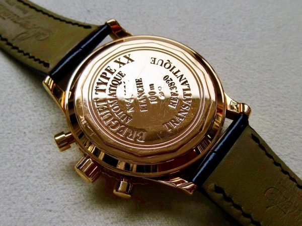 Breguet Type XX Transatlantique 3820BR 18k Rose Gold Chronograph