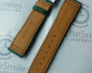 Green Calf  strap for IWC  Pilot Model 20/18 with buckle
