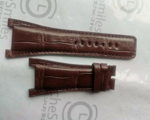 Brown Color Crocodile Strap for URWERK UR-202