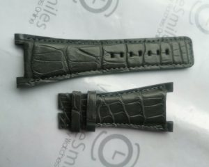 Grey Color Crocodile Strap for URWERK UR-202