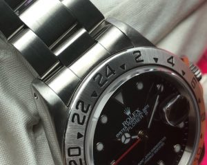 Rolex Explorer II Black Dial 16570 A Series