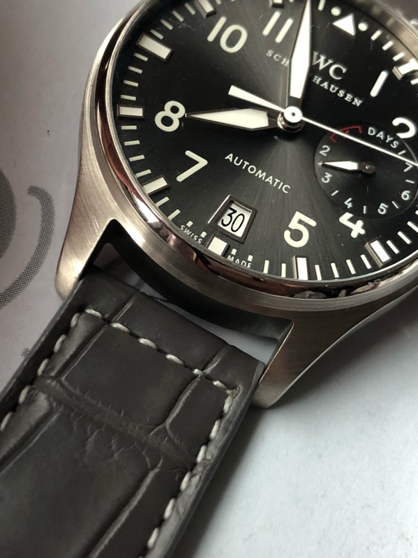 IWC Big Pilot Automatic  18K White Gold IW500402