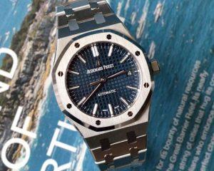 Audemars Piguet Royal Oak Blue Dial37mm 15450ST.OO.1256ST.03