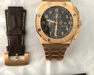 Audemars Piguet Royal Oak Offshore Arnold All Star's Brown Dial Rose Gold 26158OR Limited Edition 350 Pcs