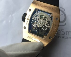 Richard Mille RM010 18K Rose Gold Skeletonised Automatic Date