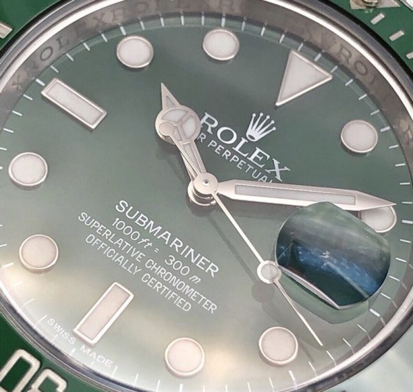 Rolex Submariner Date Green Dial Automatic 116610LV