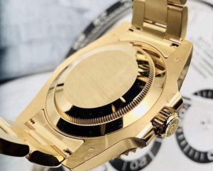 Rolex Submarine Date 18K Yellow Gold 116618LN Black Dial
