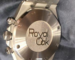 Audemars Piguet Royal Oak Chronograph 26331ST.OO.1220ST.02 J Series Black Dial