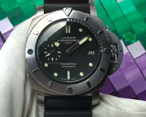 Panerai Luminor Submersible 1950 2500M 3 Days Automatic 47mm Titanium Limited Edition