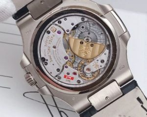 Patek Philippe Nautilus Nautilus 18K White Gold 5712G-001 Grey Dial