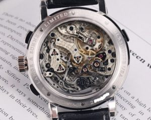"A Lange & Sohne Datograph Up/Down ""Lumen"" Platinum 405.034 Limited Edition 200 Pcs"