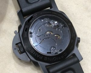 PANERAI PAM317 Luminor 1950 Chrono Monopulsante 8 Days GMT Ceramic