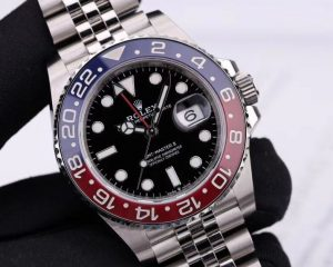 Rolex GMT-MASTER II Stainless Steel Red & Blue Pepsi Bezel 126710BLRO