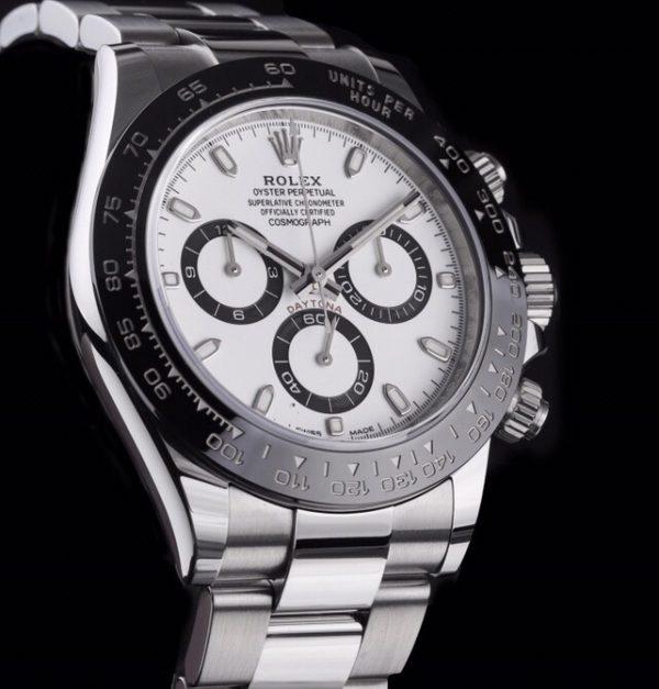 Rolex Daytona Ceramic Bezel 116500LN White Dial -1