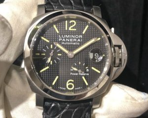 PANERAI PAM241 Luminor Power Reserve Hobnail Dial Automatic 40mm