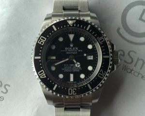 Rolex Deep Sea SD 116660 V Serial with Box & Warranty Card