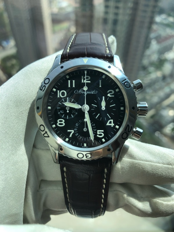Type XX Aeronavale 3800ST Chronograph Black Dial