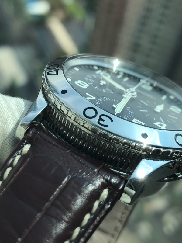 Breguet Type XX Aeronavale 3800ST Chronograph Black Dial Box & Papers