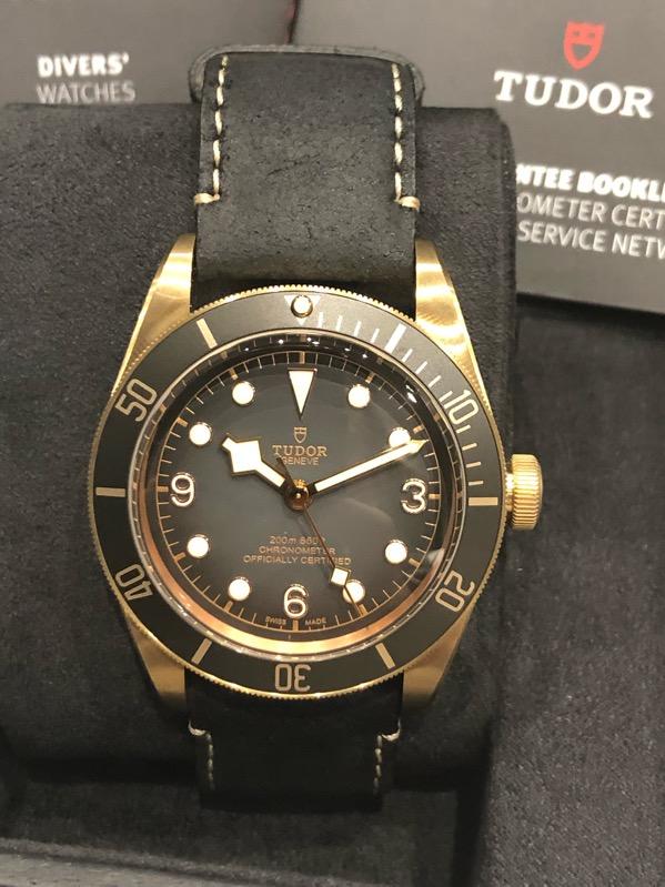 Tudor Heritage Black Bay Bronze Black Automatic 79250BA