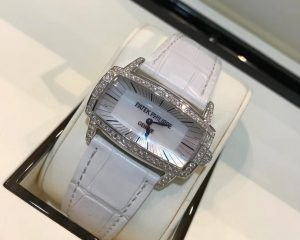 Patek Philippe Gondolo Gemma White Gold Diamond Bezel Ladies 4981G