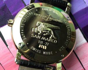 Ulysse Nardin SAN MARCO 18K Gold Automatic Men WATCH 131-77