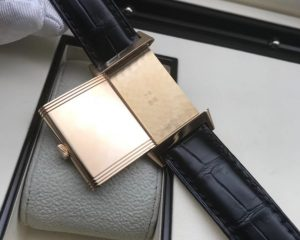 Jaeger-LeCoultre Reverso 18k Rose Gold Men's Watch 227.2.62 Manual winding