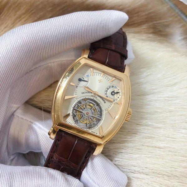 Vacheron Constantin Malte Tonneau Tourbillon Rose Gold 30066/000R-8816