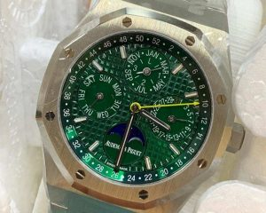 Audemars Piguet Royal Oak Perpetual Calendar Green Dial Limited Edition 50 Pcs 26606ST.OO.1220ST.01