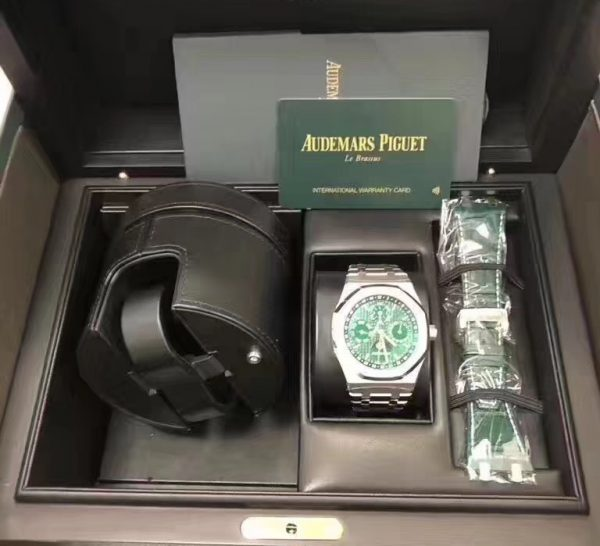 Audemars Piguet Royal Oak Perpetual Calendar Green Dial Limited Edition 50 Pcs 26606ST.OO.1220ST.01
