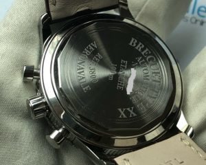 Breguet Type XX Aeronavale 3800ST Chronograph Black Dial with Paper