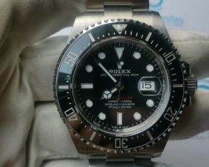 Rolex Sea-dweller Ceramics - Steel Black Automatic Red 126600