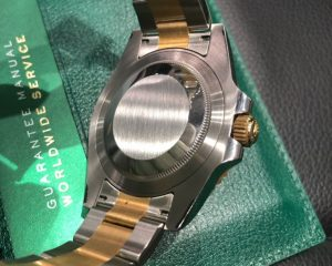 Rolex GMT II Black Dial 18K/SS Automatic 116713LN