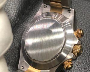 Rolex Daytona Tow Tone 116503G 18K/SS Black Diamond Dial