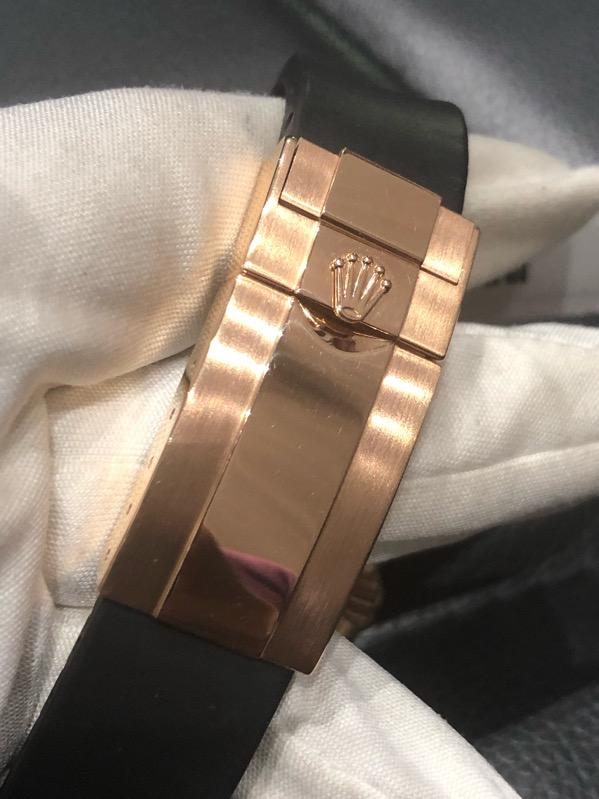 Rolex Daytona EveRose Gold Ceramic Choco Dial 116515LN