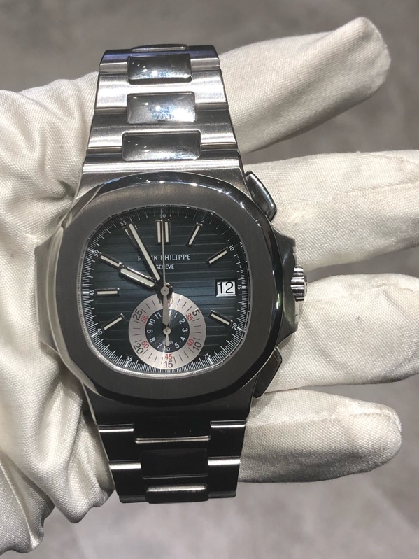 Patek Philippe Nautilus Chronograph Stainless Steel 5980/1A