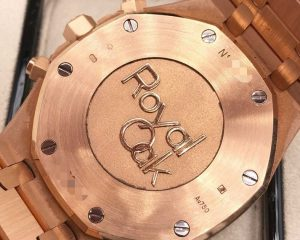 Audemars Piguet Royal Oak Chronograph 18 kt Rose Gold White Dial 41mm 26320OR.OO.1220OR.02
