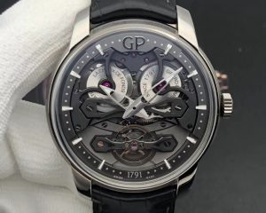 Girard Perregaux Neo Bridges Titanium 45mm Transparent 84000 84000-21-001-BB6A