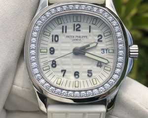 Patek Philippe Aquanaut Luce White Dial Ladies Watch 5067A-024