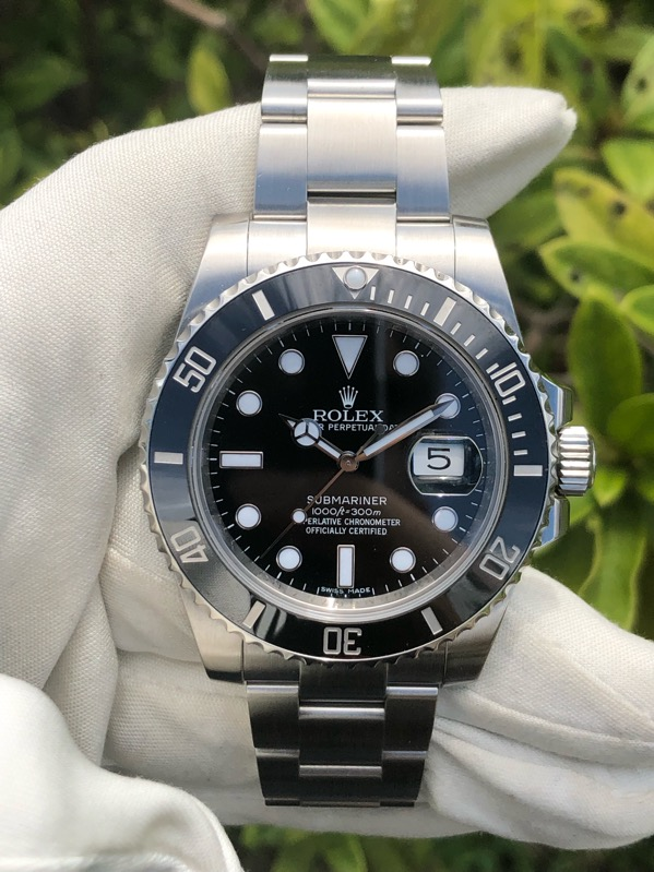 Rolex Submariner Date Automatic Ceramic Bezel 116610LN