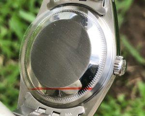 DateJust Stainless Steel Jubilee Bracelet White Stick Dial 16234