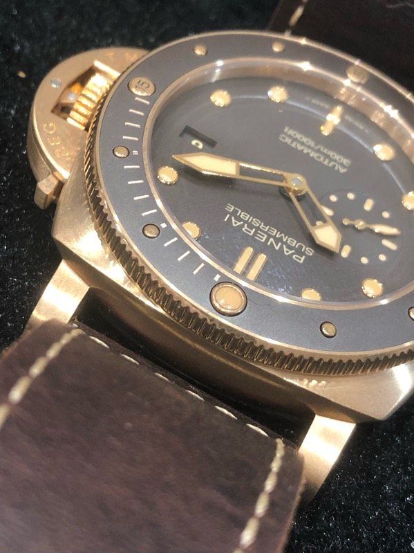Panerai Submersible Bronzo Boutique Edition Pam968 Limited Edition 47mm