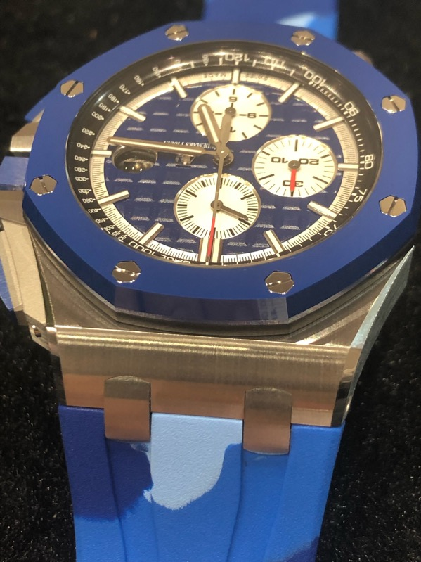 Audemars Piguet Royal Oak Offshore Chronograph Marine Blue Limited 44mm 26400SO.OO.A335CA.01