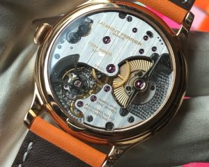 Laurent Ferrier Galet Square Micro-rotors Red Gold 229.01