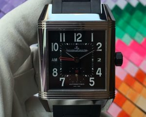 Reverso Squadra Home Time Automatic Black Dial Q700867P / 230.8.77